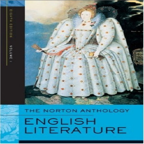 Norton Anthology English Literature, Vols 1and 2 - 8th edition